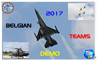 BELGIAN AIR FORCE DEMO TEAMS 2017